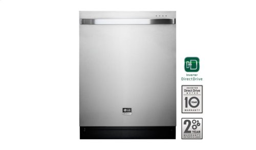 LG STUDIO - Top Control Dishwasher with TrueSteam® Technology and Flexible EasyRack Plus System