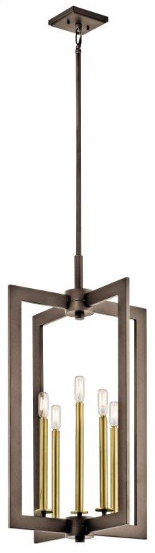 "Cullen 18"" 5 Light Foyer Pendant Olde Bronze®"