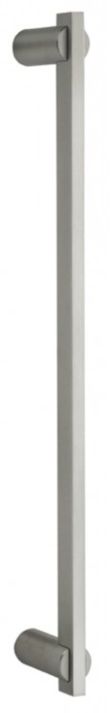 Modern Door Pull - Solid Stainless Steel in US32D (Satin Stainless Steel)