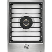 """15"""" Single-Burner Gas Cooktop with Wok Ring"""