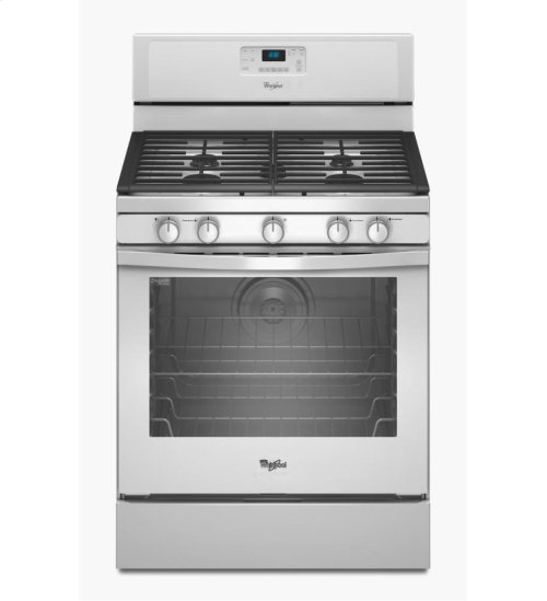 5.8 cu. ft. Capacity Gas Range with AquaLift® Self-Clean Technology