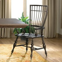 Cassidy - Windsor Arm Chair - Charred Oak Finish