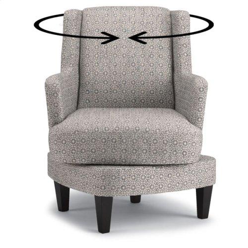 VIOLET Swivel Barrel Chair