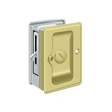 "HD Pocket Lock, Adjustable, 3 1/4""x 2 1/4"" Privacy"
