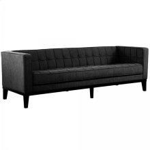 Roxbury Sofa In Charcoal Fabric