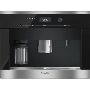 MieleBuilt-in coffee machine with bean-to-cup system and OneTouch for Two for perfect coffee enjoyment.