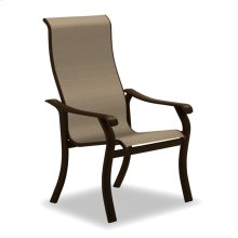 Villa Sling Supreme Stacking Arm Chair