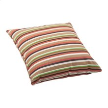 Hamster Large Outdoor Pillow Brown Base Multistripe