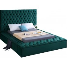 "Bliss Velvet Bed - 75"" W x 93.5"" D x 60.5"" H"
