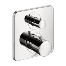 Chrome Citterio M Thermostatic Trim with Volume Control