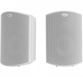 """All Weather Outdoor Loudspeakers with 4.5"""" Drivers and 3/4"""" Tweeters in White"""