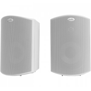 """Polk AudioAll Weather Outdoor Loudspeakers with 4.5"""" Drivers and 3/4"""" Tweeters in White"""