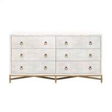 Strand Shagreen 6-Drawer Double Dresser