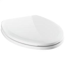White Elongated Standard Close Seat