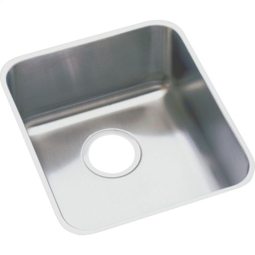"Elkay Lustertone Classic Stainless Steel 14"" x 18-1/2"" x 7-7/8"", Single Bowl Undermount Sink Kit"