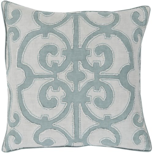 """Amelia AL-003 22"""" x 22"""" Pillow Shell with Polyester Insert"""