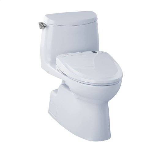 Carlyle® II 1G Connect+™ S350e One-Piece Toilet - 1.0 GPF - Cotton