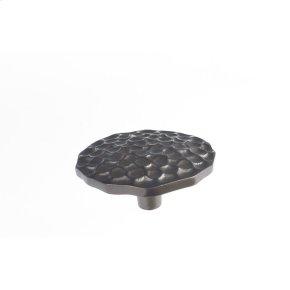 Oil Rubbed Bronze Pomegranate Round Knob 2 1/2 Inch