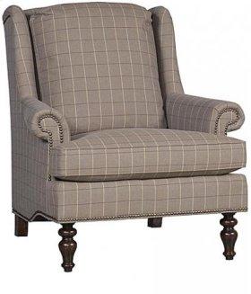 Florida Fabric Chair, Florida Ottoman