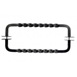 Twist Door Pull Back to Back 12 Inch (c-c) - Pewter