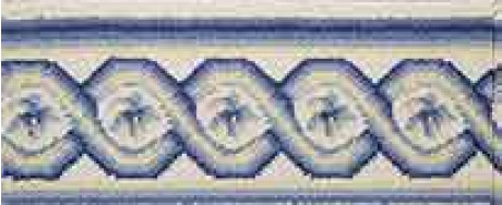 LUXE POINTE FLOWER TRELLIS LP13 IVBLY-B 7.6''