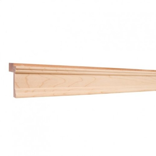 "2-1/4"" x 2-13/16"" Light Rail Moulding Species: Alder"
