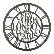 Cities of the World Wall Clock