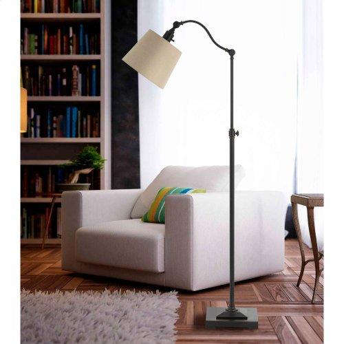 60W Pampanometal Downbridge Adjust able Height Floor Lamp