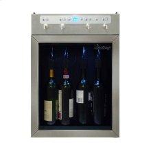4-Bottle Wine Dispenser (Stainless)