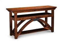 "B&O Railroade Trestle Bridge Open TV Stand, 54""w, B&O Railroade Trestle Bridge Open TV Stand, 54""w"