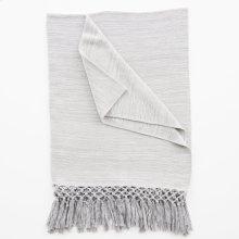 Aschlyn Throw - Light Grey
