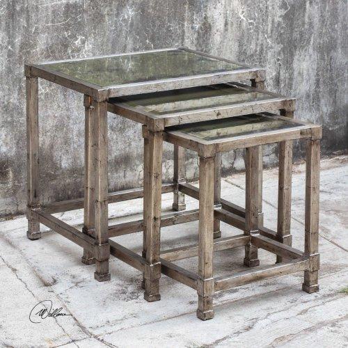 Keanna Nesting Tables, S/3