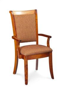 Empire Arm Chair, Fabric Cushion Seat