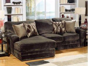Armless Sofa - Chocolate