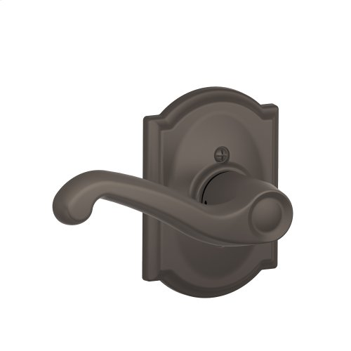 Flair Lever with Camelot Trim Non-Turning Lock - Oil Rubbed Bronze