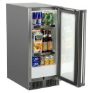 "15"" Marvel Outdoor Refrigerator - Solid Stainless Steel Door with Lock - Left Hinge Product Image"