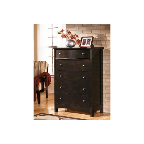 B208 Five Drawer Chest (Harmony)