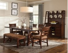 Bench Creek Trestle Dining Table