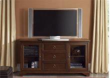 TV Console - 64 Inch - Cherry