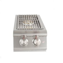 Blaze Built-In LTE Double Side Burner with Lights, With Fuel type - Propane