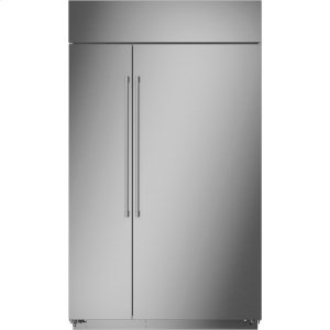 "MonogramMonogram 48"" Smart Built-In Side-by-Side Refrigerator"