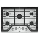 WhirlpoolWhirlpool(R) 30-inch Gas Cooktop with EZ-2-Lift(TM) Hinged Cast-Iron Grates - Stainless Steel