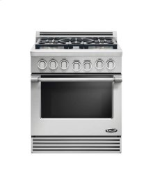 "30"" Professional, 5 Burner Gas Range"