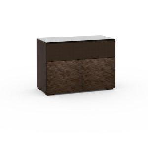 Salamander DesignsBerlin 329, Twin-Width AV Cabinet, Textured Wenge