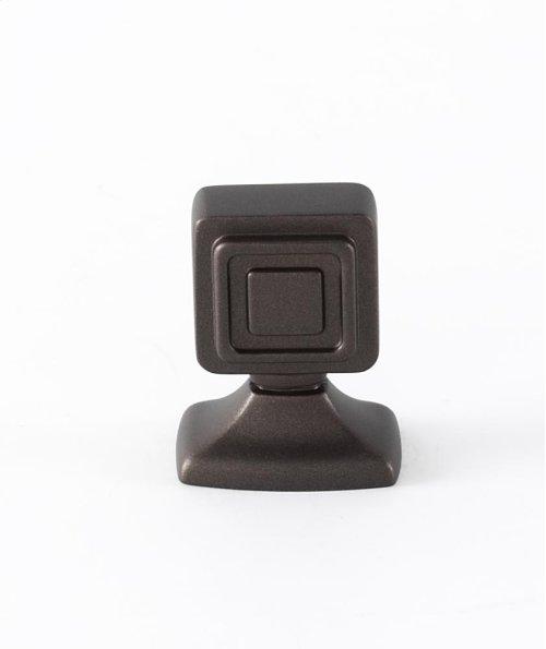 Cube Knob A986-78 - Chocolate Bronze