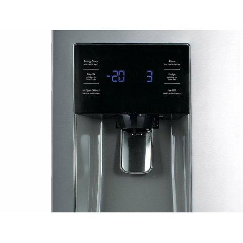 25 cu. ft. French Door with External Water & Ice Dispenser