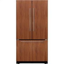 "36"" Counter-Depth French Door Bottom-Freezer Benchmark Series - Custom Panel"