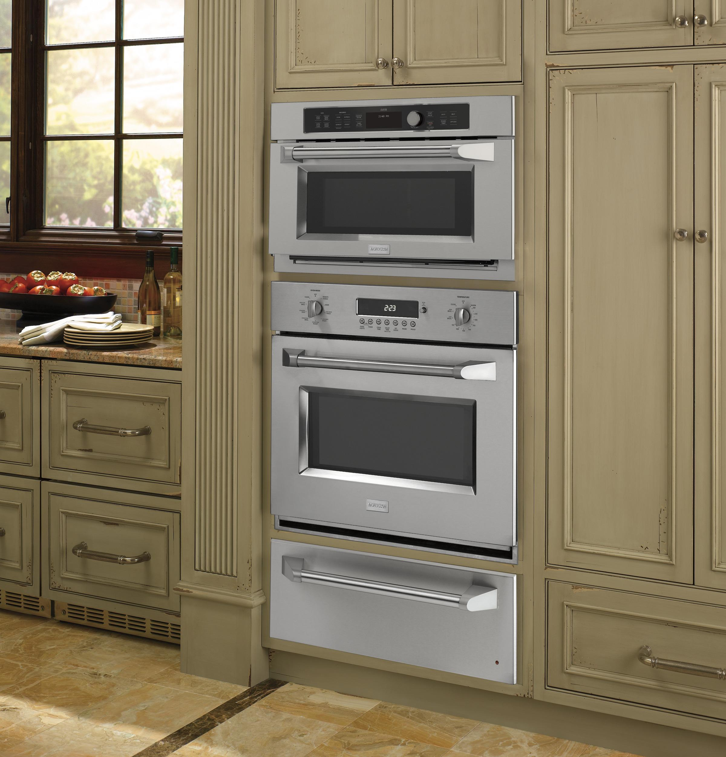 product drawer in zoom steel out enter bosch ovens stainless warming resource microwave press to and
