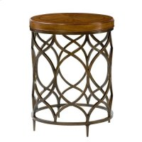 Hidden Treasures Round Lamp Table Product Image