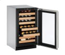 "2000 Series 18"" Wine Captain® Model With Integrated Frame Finish and Field Reversible Door Swing (115 Volts / 60 Hz) Product Image"